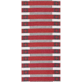Horredsmattan Märta (70x250cm) Röd