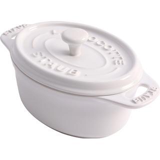 Staub Oval Minigryta med lock 0.2 L