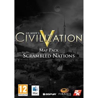 Sid Meier's Civilization 5: Scrambled Nations Map Pack