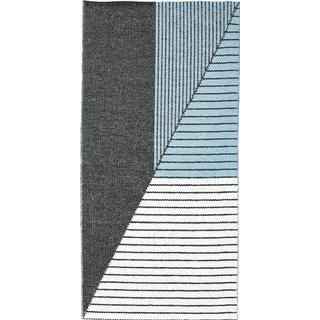 Horredsmattan Stripe (150x210cm) Blå