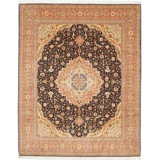 CarpetVista MIA11 Tabriz 50 Raj med Silke (247x305cm)