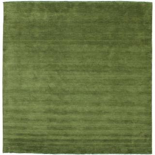 RugVista Handloom Fringes (300x300cm) Grön