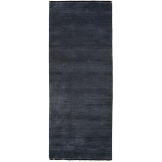 RugVista Handloom Fringes (80x200cm) Blå