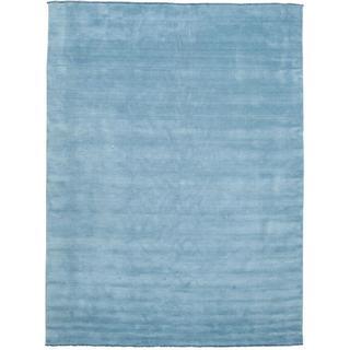 RugVista Handloom Fringes (300x400cm) Blå