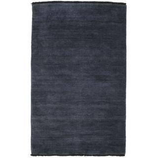 RugVista Handloom Fringes (100x160cm) Blå