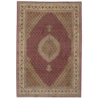 CarpetVista APD245 Tabriz 50 Raj med Silke Orientalisk (200x308cm)