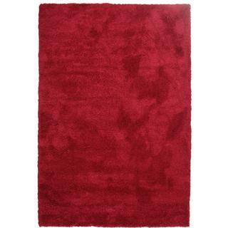 RugVista Shaggy Sadeh (200x300cm) Röd