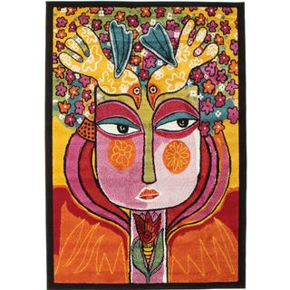RugVista CVD11306 She Has Flowers In Her Hair (140x200cm)