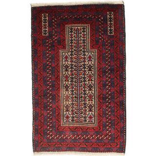 CarpetVista RXZA25 Beluch (88x139cm) Flerfärgad