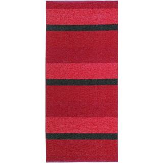 Horredsmattan Block (70x200cm) Röd