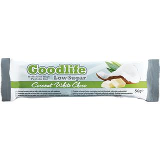 Goodlife Low Sugar Coconut & White Chocolate 50g 1 st