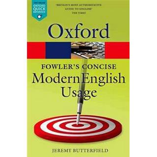 Fowler's Concise Dictionary of Modern English Usage (Pocket, 2016)