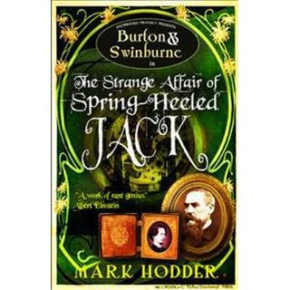 Burton and Swinburne in The Strange Affair of Spring Heeled Jack (Storpocket, 2010)