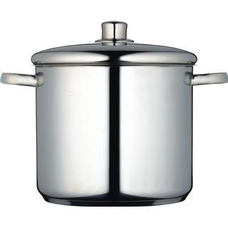 Kitchencraft MasterClass Stainless Steel Buljonggryta med lock 8.5 L 24 cm