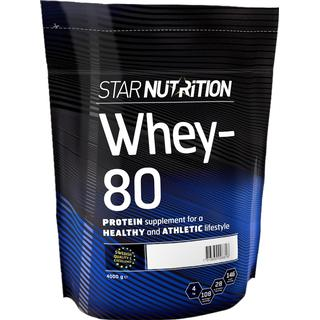 Star Nutrition Whey-80 Double Rich Chocolate 4kg