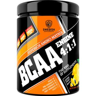 Swedish Supplements BCAA Engine 4:1:1 Lemon Twist 400g