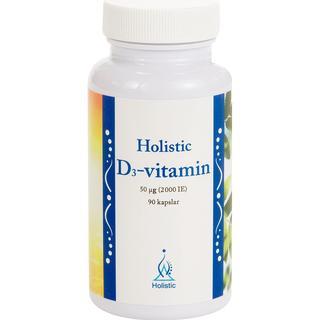 Holistic D3-vitamin 2000 IE 90 st