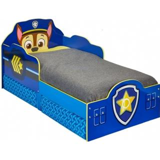 Hello Home Paw Patrol Chase Toddler Bed with Storage