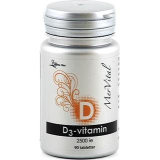 Alpha Plus D3-Vitamin 2500IE Mervital 90 st