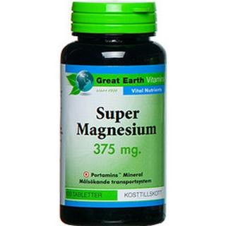 Great Earth Super Magnesium 375mg 100 st