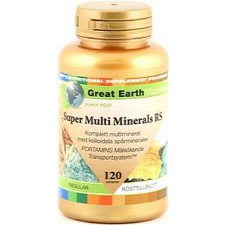 Great Earth Super Multi Minerals Regular 120 st