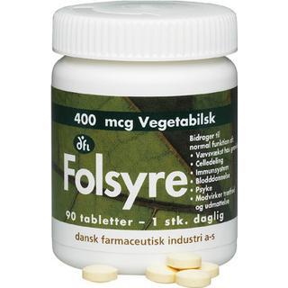 DFI Folsyre 400mcg 90 st