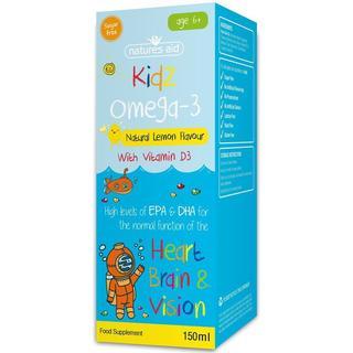 Natures Aid Kidz Omega-3 150 ml