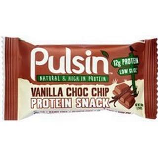 Pulsin Vanilla Chocolate Chip Protein Bar 50g