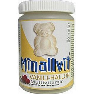 Carls-Bergh Minallvit Vanilj/Hallon 60 st
