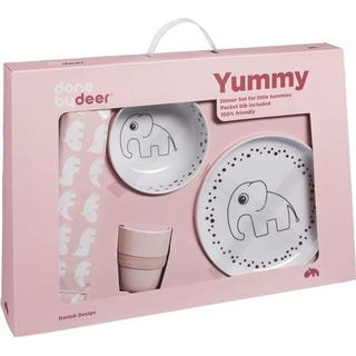 Done By Deer Dinner Set Happy Dots