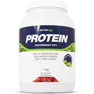 Better You Ärt & Havreprotein Jordgubb/Hallon 1 kg