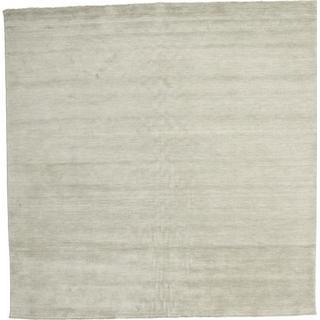RugVista Handloom Fringes (300x300cm) Grå