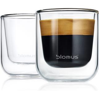 Blomus Thermo Nero Dricksglas 8 cl 2 st