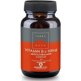 Terra Nova Vitamin B12 500ug Complex (Methylcobalamin) 50 st
