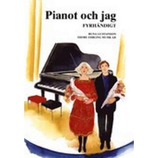 Pianot och jag Fyrhändigt (Häftad, 2016)