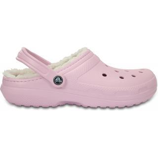 Crocs Classic Fuzz Lined W - Ballerina Pink/Oatmeal