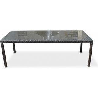 Beliani Italy 220x100cm Trädgårdsmatbord