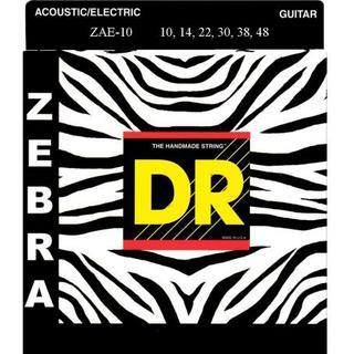 DR String Zebra Acoustic 10-46