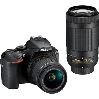 Nikon D5600 + AF-P 18-55mm VR + AF-P 70-300mm VR