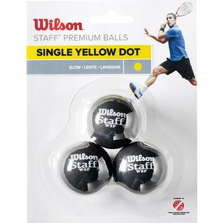 Wilson Single Yellow Dot 3-pack