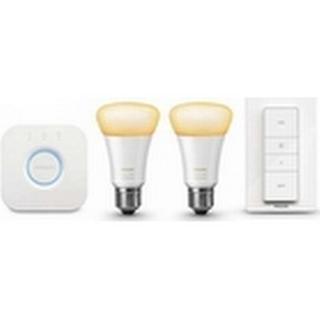 Philips Hue White Ambiance LED Lamp 9.5W E27 2 Pack Starter Kit