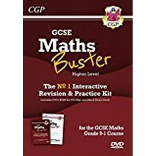 MathsBuster: GCSE Maths Interactive Revision (Grade 9-1 Course) Higher - DVD&Exam Practice Pack (CGP GCSE Maths 9-1 Revision)