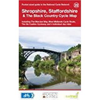 Shropshire, Staffordshire & The Black Country Cycle Map (National Cycle Network Route Maps)