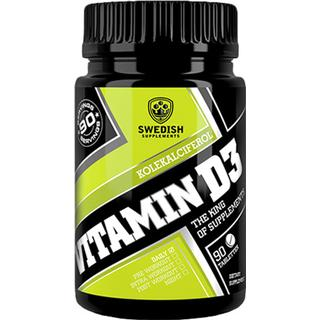 Swedish Supplements Vitamin D3 90 st
