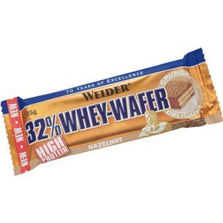 Weider 32% Whey Wafer Bar Hazelnut 24x35g 24 st