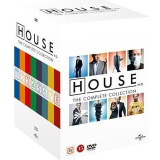 House M.D.: Säsong 1-8 Complete series (46DVD) (DVD 2013)