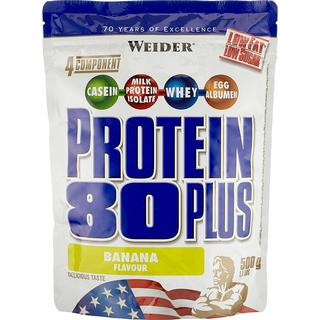 Weider Protein 80 Plus Banana 500g 2 st