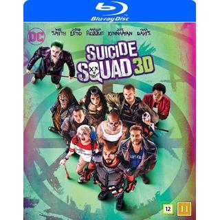 Suicide Squad 3D (Blu-ray 3D + Blu-ray) (3D Blu-Ray 2016)