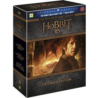 Hobbit Trilogy: Extended edition 3D (15Blu-ray 3D) (3D Blu-Ray 2014)
