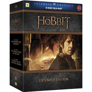 Hobbit Trilogy: Extended edition (9Blu-ray) (Blu-Ray 2014)